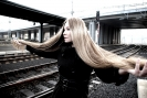 Woman on the railway station ..._2